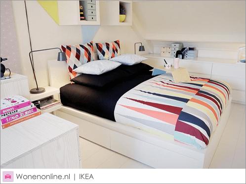 slaapkamer indelen ikea - boisholz, Deco ideeën