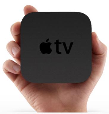 AppleTV與手的比例