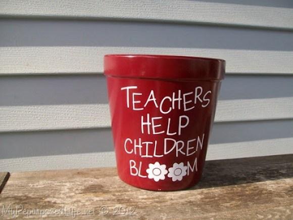 Teachers Help Children Bloom