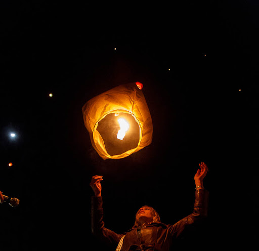 lantern released for Sandy Hook victims