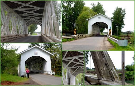 Gilkey Covered Bridge near Skio