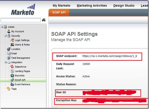 Calling Marketo SOAP API from Salesforce APEX Classes