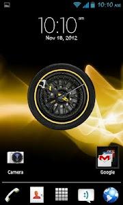 Wheel Analog Clock HD free screenshot 0