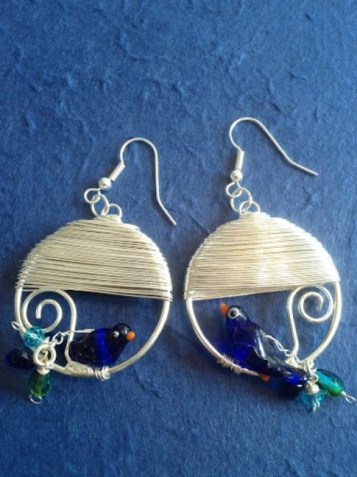 birdie earrings