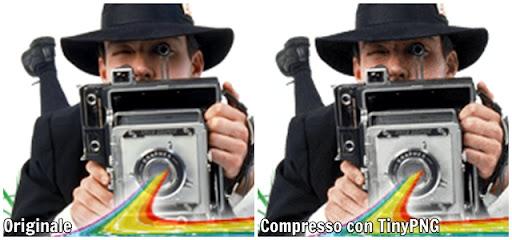 esempio compressione tinypng crop terapixel Ridurre il peso delle immagini fino al 70% senza perdere qualità