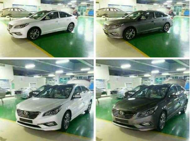 2015-Hyundai-Sonata-spied-undiguised