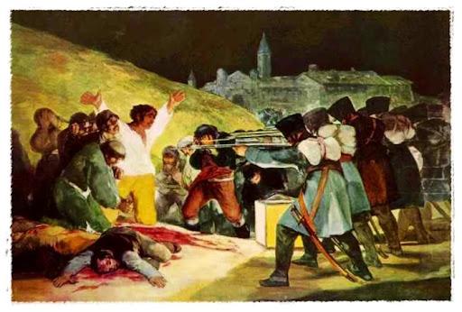 Resultat d'imatges de fusilamientos del 2 de mayo goya