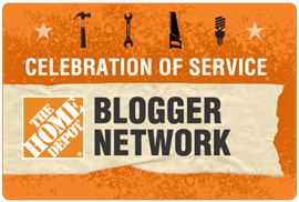 Home Depot COS Blogger Badge