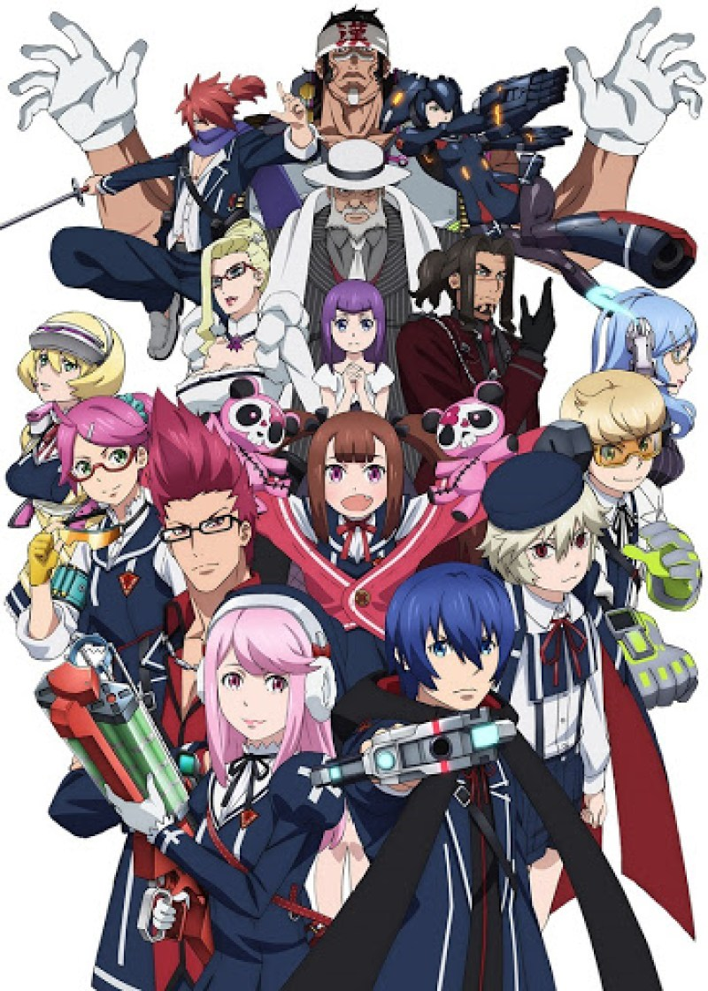 Gunslinger Stratos - anime 2