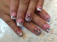 Cute French Tip Nail Designs | Nail Designs, Hair Styles ...
