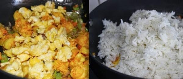 Prawn Fried Rice step6