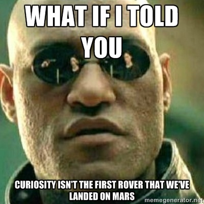 Curiosity what if I told you