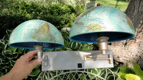 globes as lamps