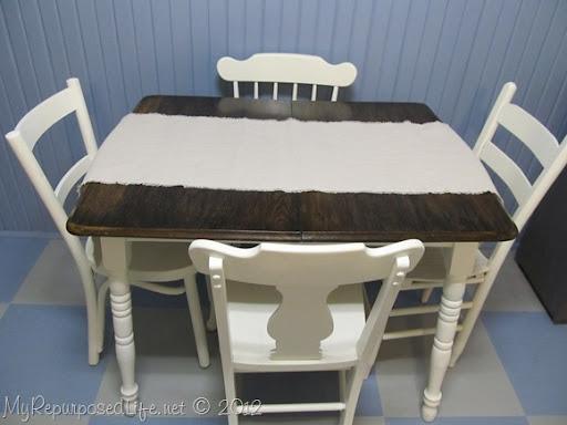 Small Kitchen Table Redo