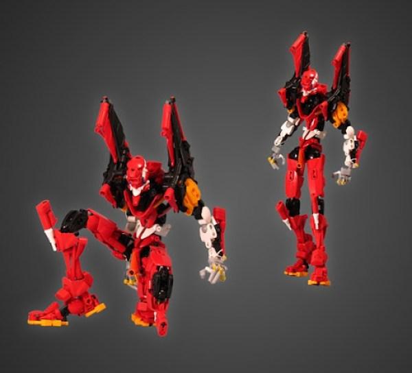 Eva Unit 02 LEGO