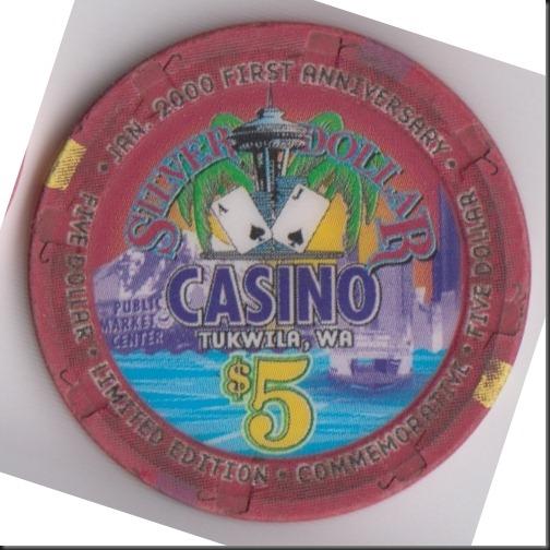 Silver Dollar Casinotukwila, Wa  Casino Chip Company