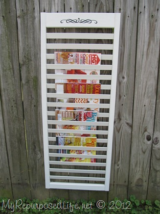 bi-fold door repurposed