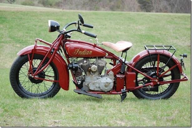 1928 Indian Scout 101 45 cu. in. 750 cc