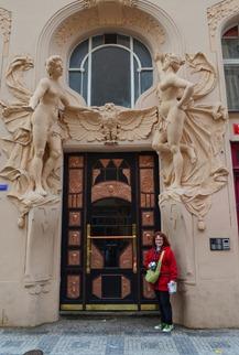 Prague doorways are amazing