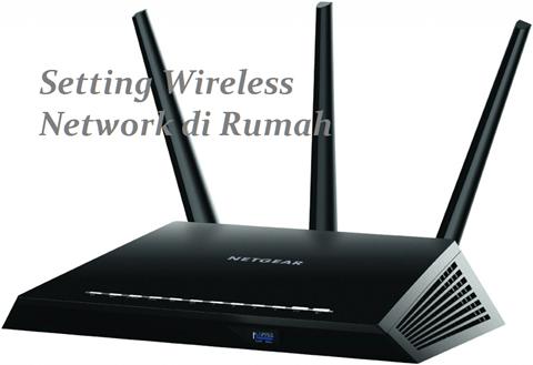 setting wifi di rumah