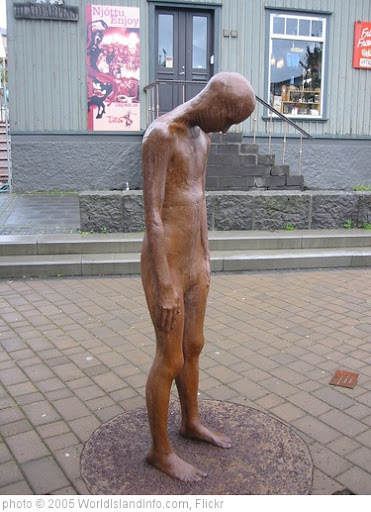 'Sad Icelandic sculpture' photo (c) 2005, WorldIslandInfo.com - license: http://creativecommons.org/licenses/by/2.0/