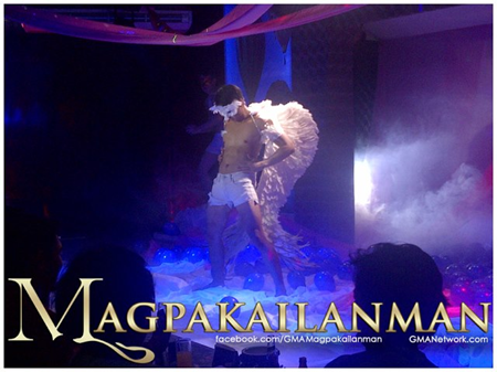 Aljur Abrenica as a macho dancer in Magpakailanman
