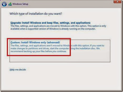 cara menginstall windows 10 di partisi