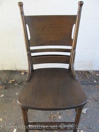antique pew chair restoration (21)