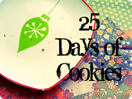 25 days of cookies