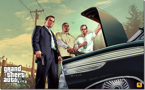 Grand Theft Auto V: Rockstar Games revela nova artwork do jogo
