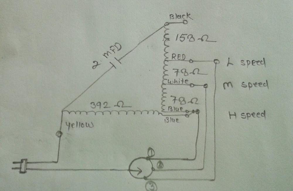 medium resolution of khaitan table fan super model winding data