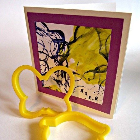 Cookie Cutter Stamped Card 5