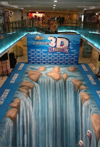 18. Cataratas en 3D - Hong Kong