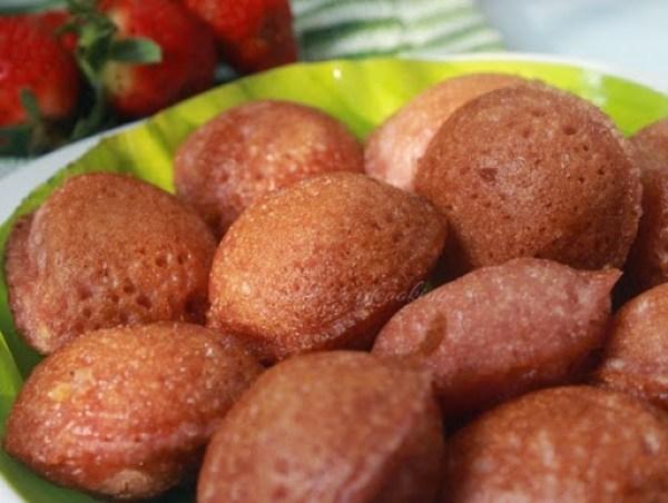 Strawberry Samai Arisi Panniyaram2