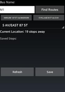 NYC Bus Tracker screenshot 0