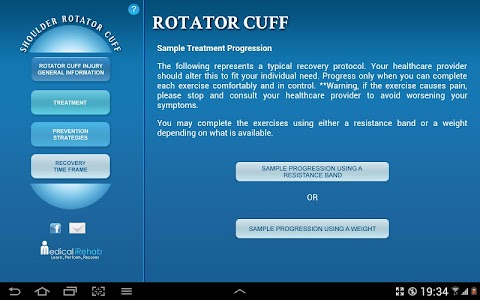 Rotator Cuff Tablet App screenshot 2