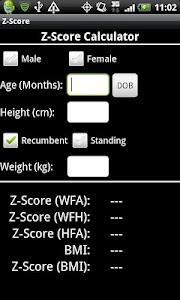 Z-Score screenshot 0
