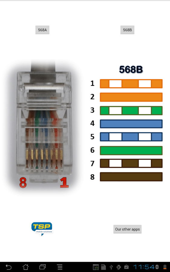 Ethernet Cable Connector Wiring Diagram