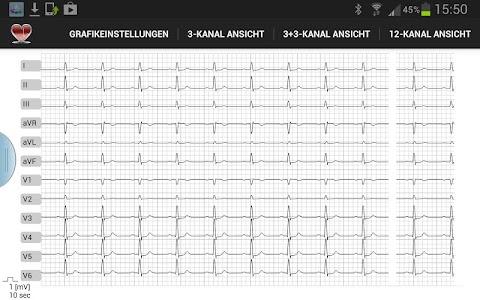 Multi-ECG screenshot 0