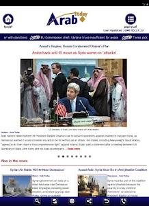 Arab Today screenshot 9