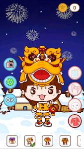 YoYo kitty livewallpaper screenshot 1