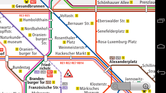 Berlin Subway Map screenshot 1