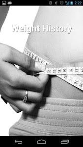 Weight History (Diet Calendar) screenshot 0