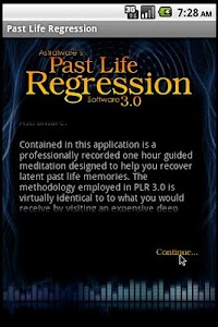 Past Life Regression Hypnosis screenshot 0