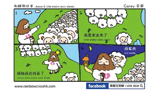Comic Bible 漫畫聖經 Comic Jesus screenshot 13