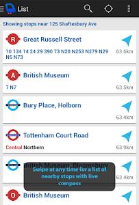 Depart: London Transport Live screenshot 10