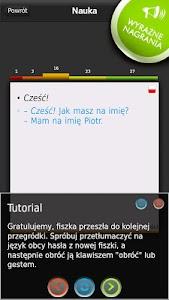 FISZKI Angielski Czasowniki A screenshot 1