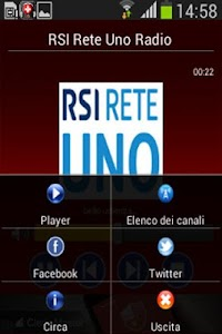Radio Svizzera screenshot 1