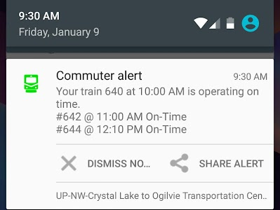 TrainAlert Metra Chicago screenshot 4