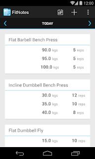 FitNotes - Gym Workout Log screenshot 00